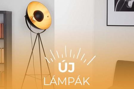 Új lámpák