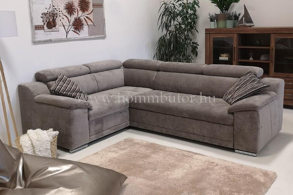 ANAMI közepes méretű (266x193cm) L-alakú sarok ülőgarnitúra ágyazható