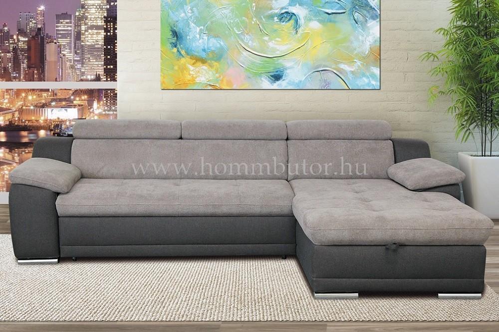 ANAMI közepes méretű (272x165cm) L-alakú sarok ülőgarnitúra ágyazható