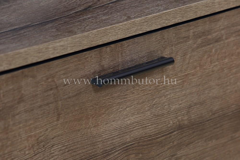ANGORA komód 2 ajtós 4 fiókos 150x81 cm