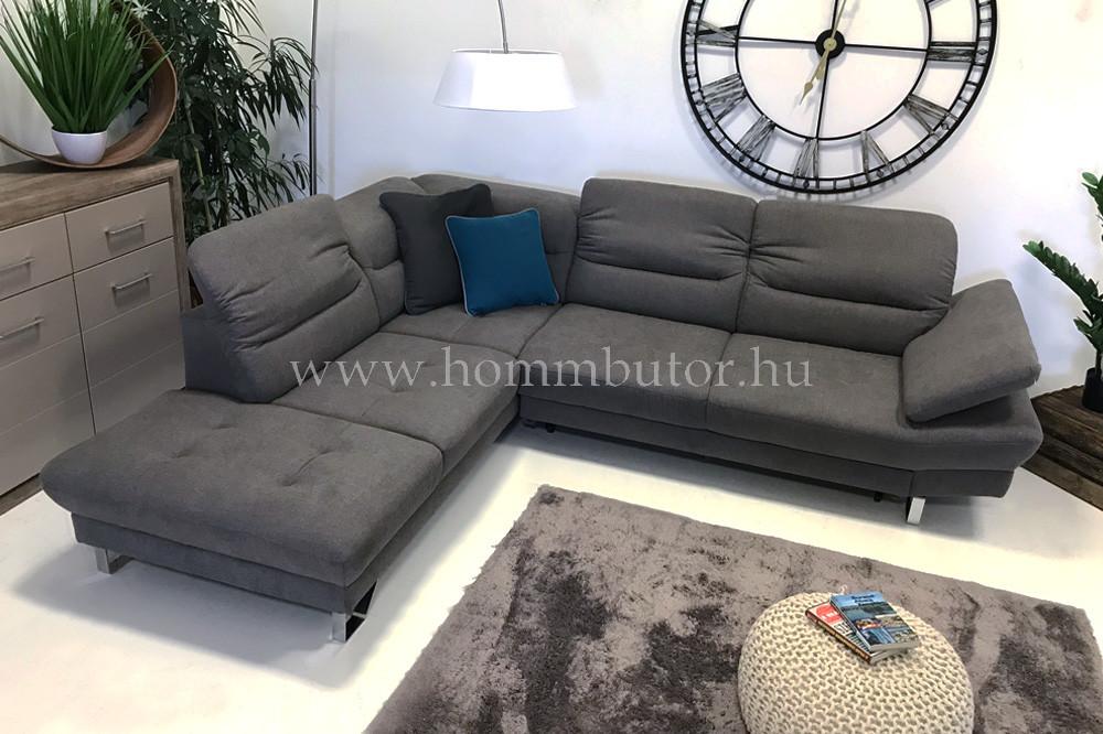 ASTRUM közepes méretű (272x226cm) L-alakú sarok ülőgarnitúra, ágyazható változatban is