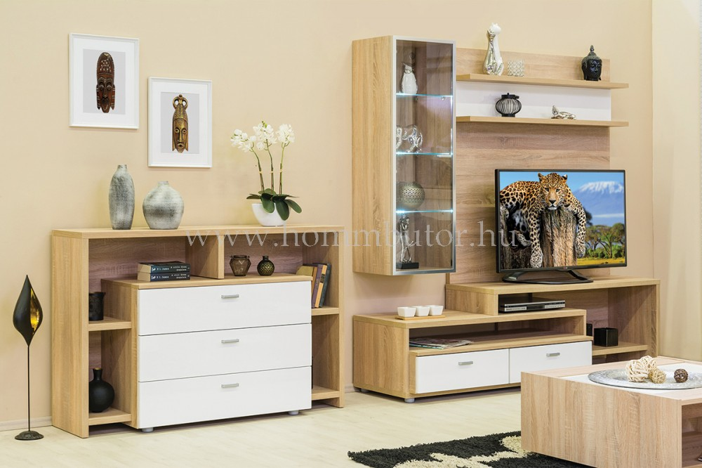 BLING komód 3 fiókos 88x63 cm