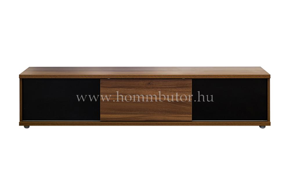 BLING TV-állvány 2 fiókos 1 tolóajtós 183x37 cm