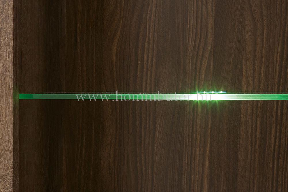 BALIN vitrines szekrény 1 ajtós 68x197 cm