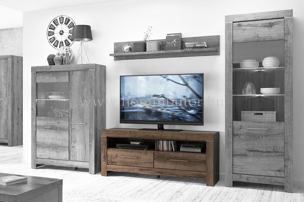BALIN TV-állvány 2 fiókos 1 polcos 140x61 cm