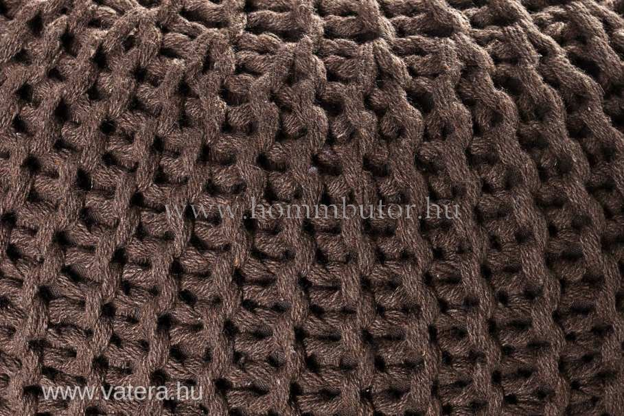 BERRY pamut ülőke Ø55 cm barna színben