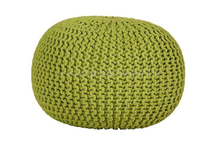 BERRY pamut ülőke Ø55 cm zöld színben