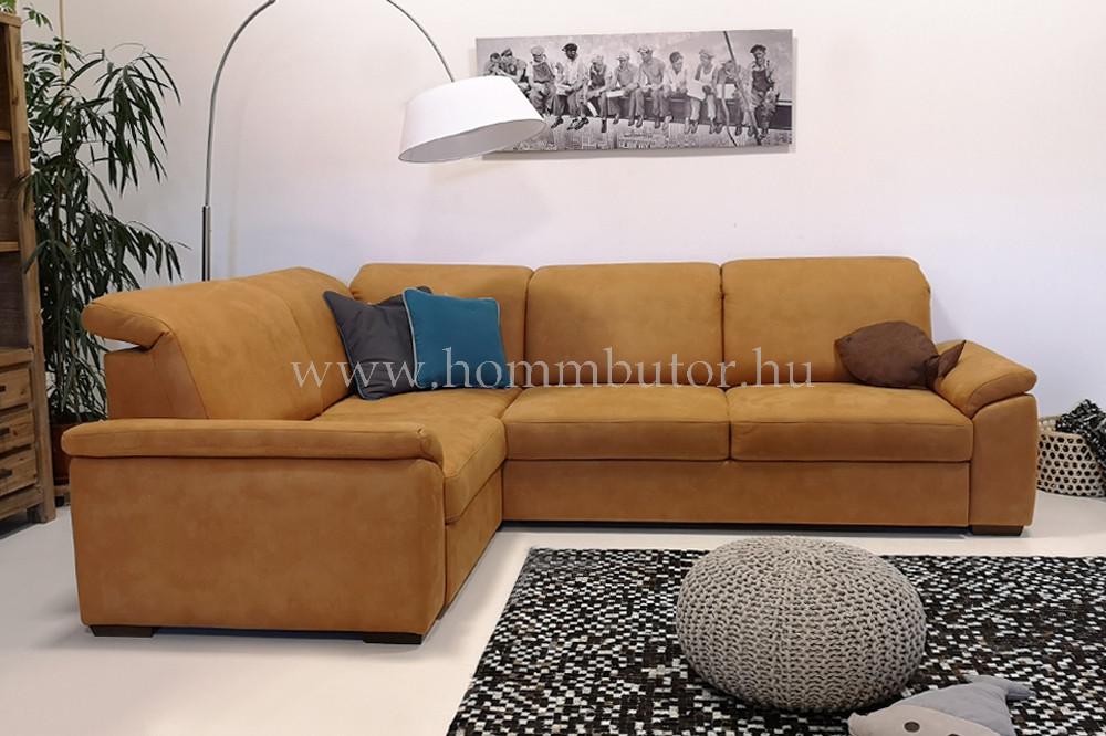 BOLOGNA közepes méretű (280x200cm) L-alakú sarok ülőgarnitúra, ágyazható