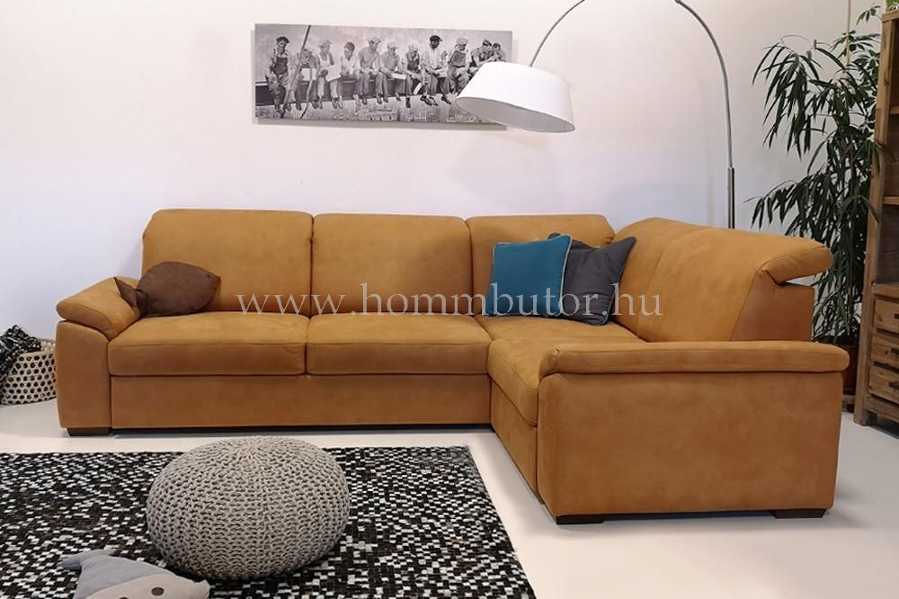 BOLOGNA közepes méretű (280x200cm) L-alakú sarok ülőgarnitúra, ágyazható változatban is