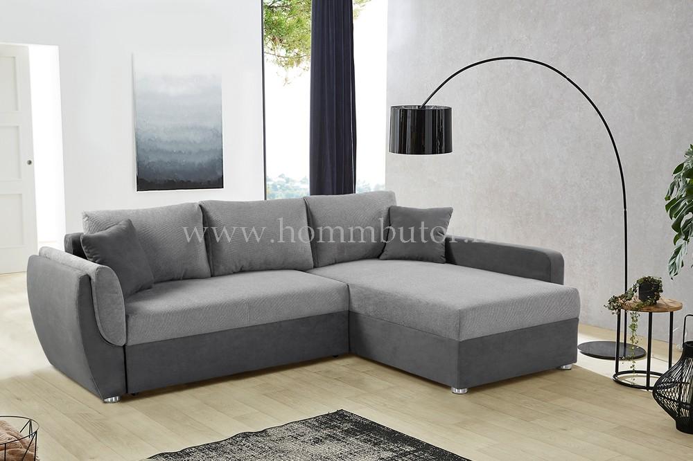 BOLKA L-alakú ülőgarnitúra három színben 247x178 cm