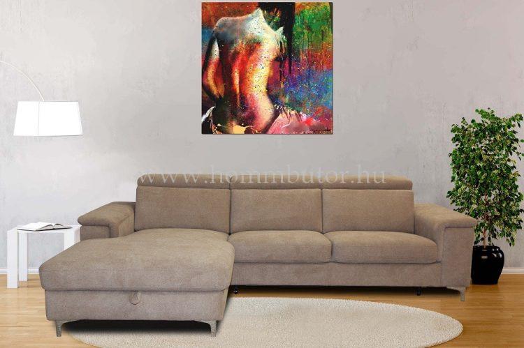 BRAVISSIMO L-alakú ülőgarnitúra 272x165 cm