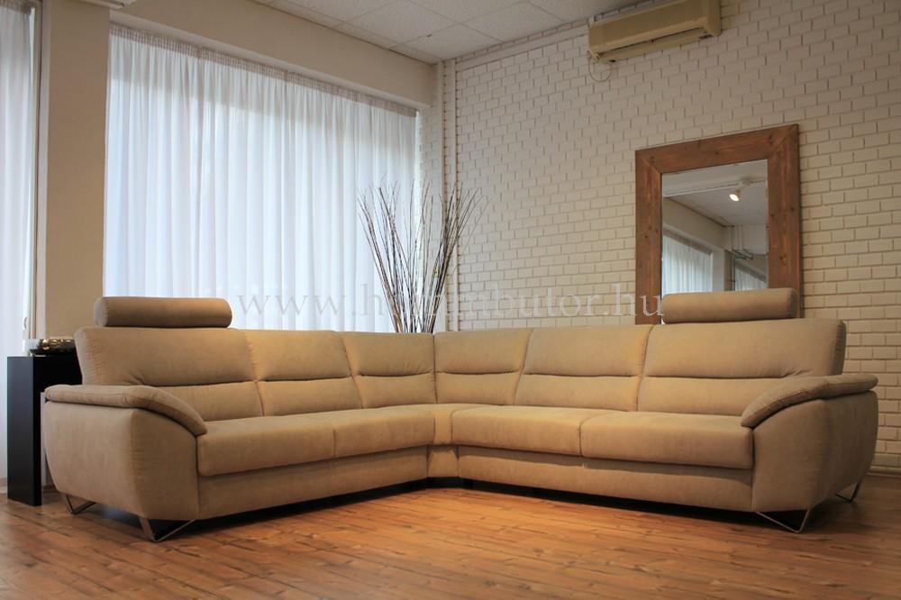 BRUCE közepes méretű (290x270cm) L-alakú ülőgarnitúra