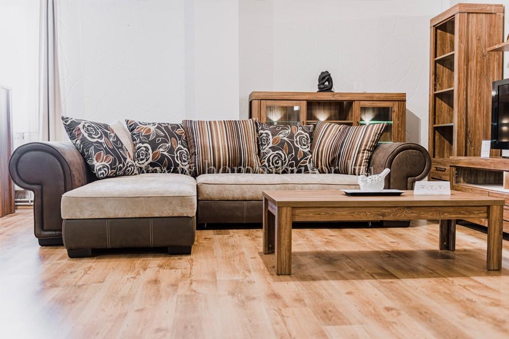 CHAMELEON nagy méretű (325x205cm) L-alakú sarok ülőgarnitúra, ágyazható, ágyneműtárolós