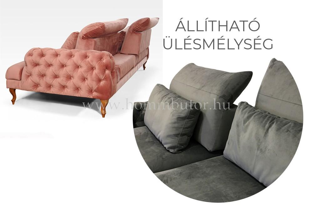 CHERSTON 3 üléses kanapé 245x110 cm