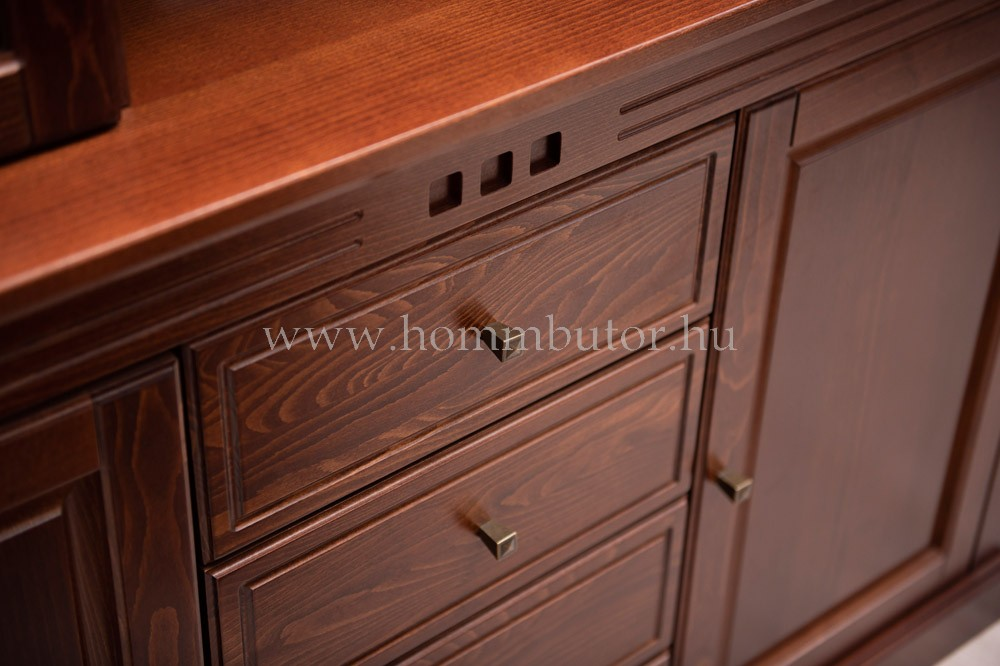 CONCERTO CASTELLO komód 2 ajtós 2 fiókos 110x90 cm