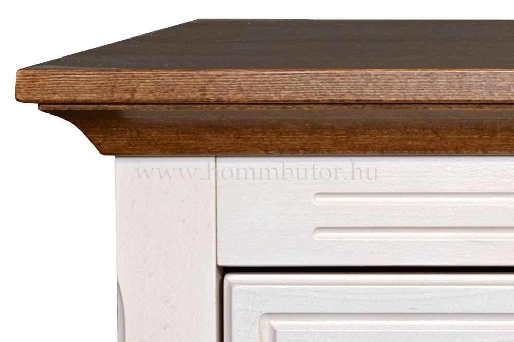 CONCERTO CASTELLO komód 2 ajtós 4 fiókos 157x90 cm