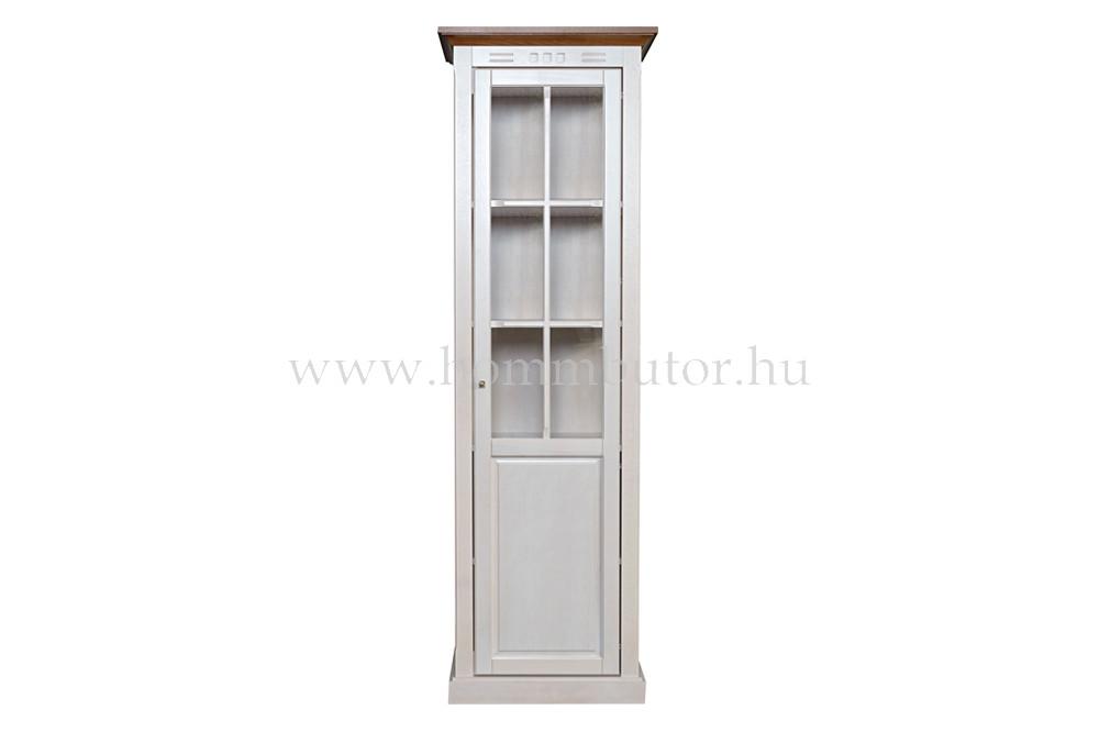 CONCERTO vitrin 1 üvegajtós 64x205 cm