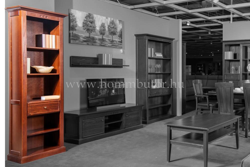 CONCERTO CASTELLO szekrény 1 fiókos 5 polcos 64x205 cm