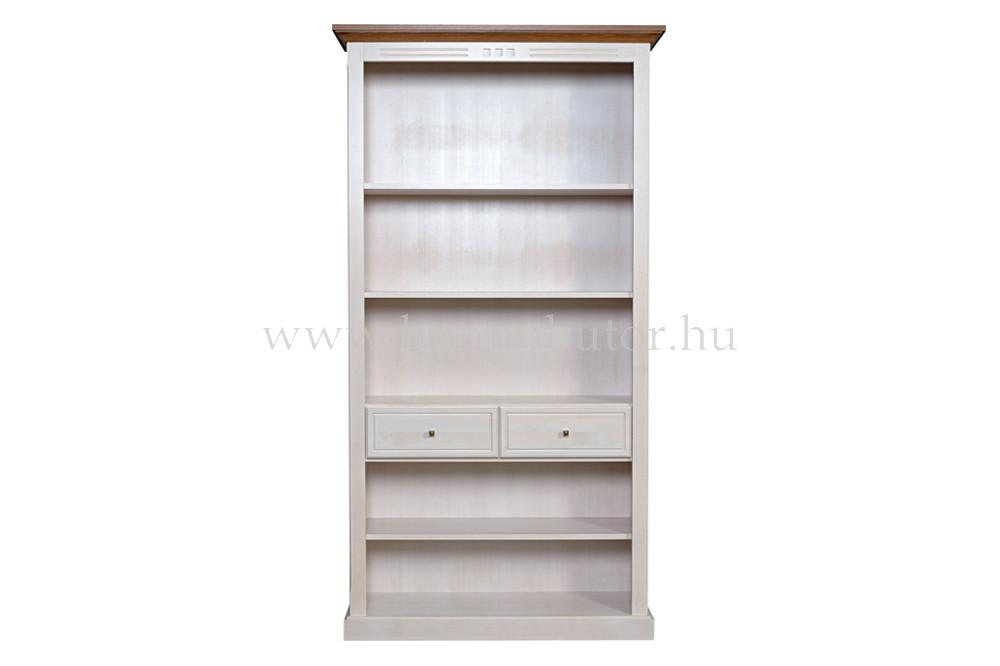 CONCERTO szekrény 2 fiókos 5 polcos 110x205 cm