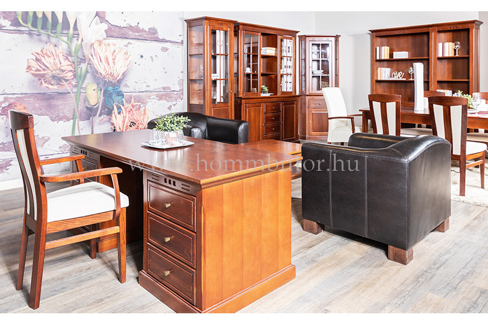 CONCERTO CASTELLO íróasztal 1 ajtós 3 fiókos175x77 cm