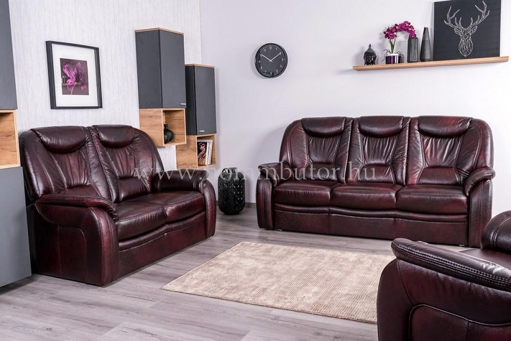 DANDELION 2 üléses valódi bőr kanapé 150x105 cm