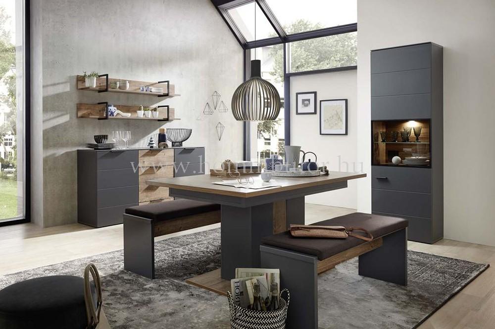 DIANA bővíthető étkezőasztal 160/210x90 cm