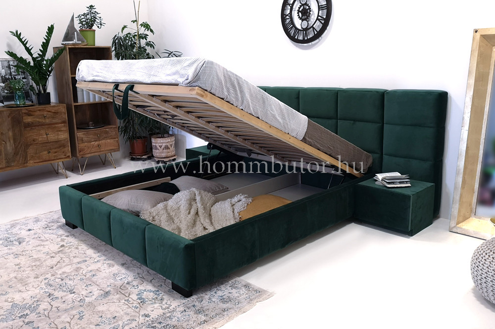 DORINA fix vagy ágyneműtartós ágykeret 160/180x200 cm
