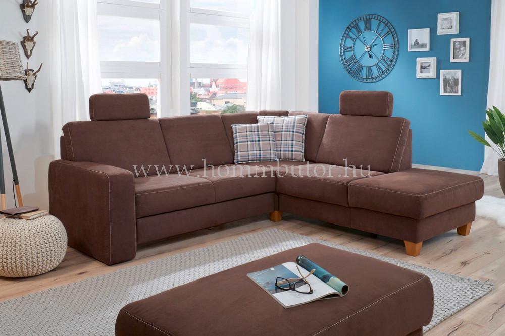 DYSON L-alakú ülőgarnitúra 252x218 cm