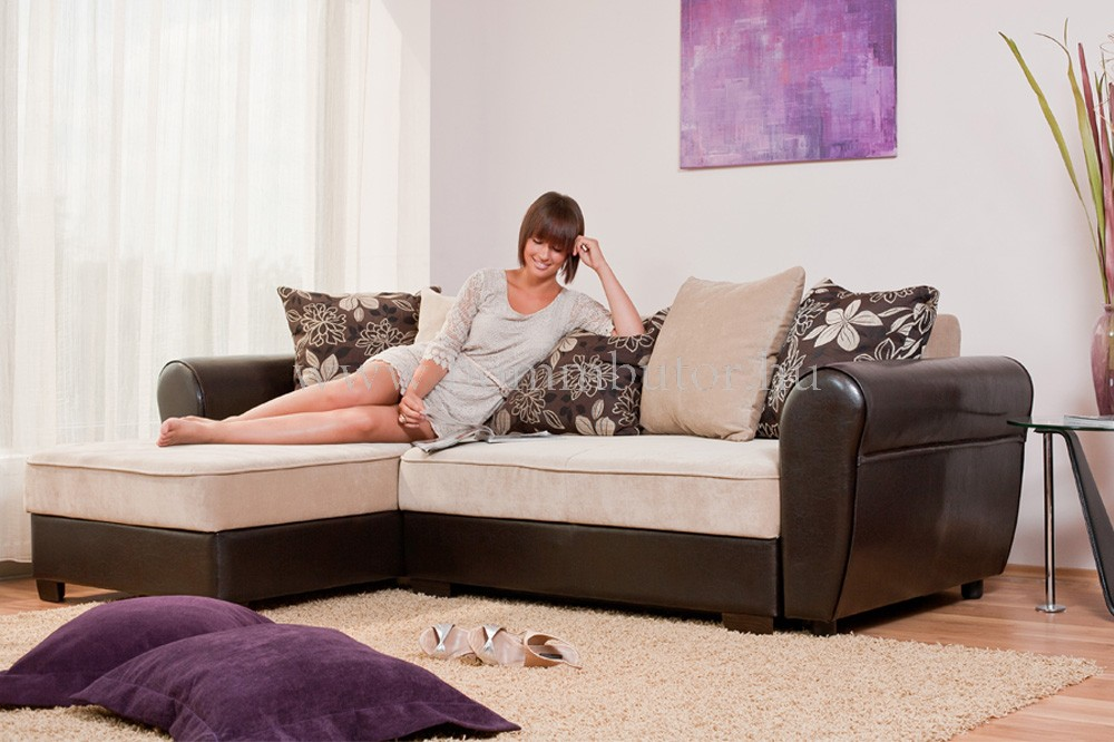 ELISA L-alakú ülőgarnitúra 250x165 cm