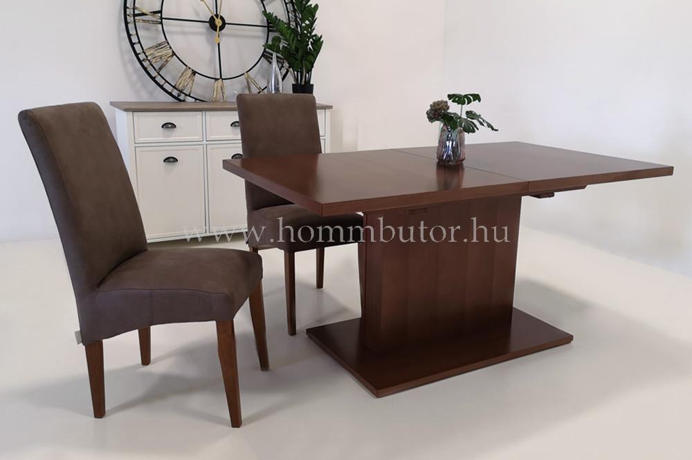 ELLIE étkezőasztal 160x90 cm bővíthető dió páccal