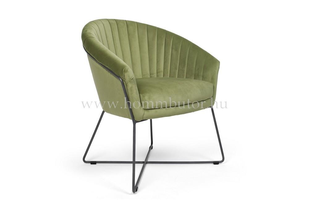 ELLIS karfás szék fém lábbal