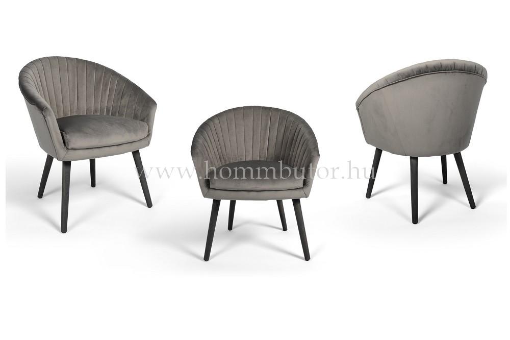 ELLIS karfás szék fa lábbal