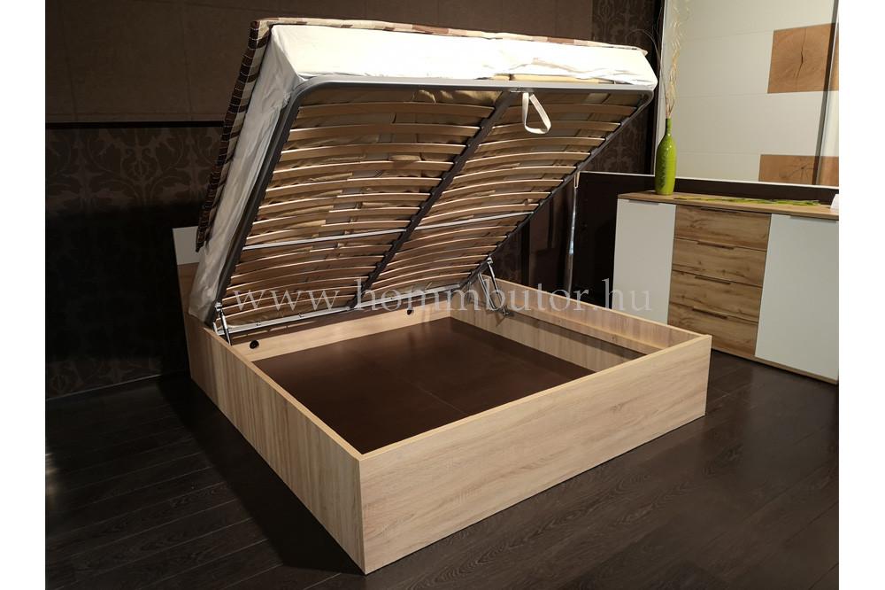 FA ágyneműtartós ágykeret 140x200 cm