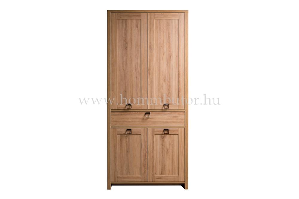 FARMER szekrény 4 ajtós 1 fiókos 89x198 cm