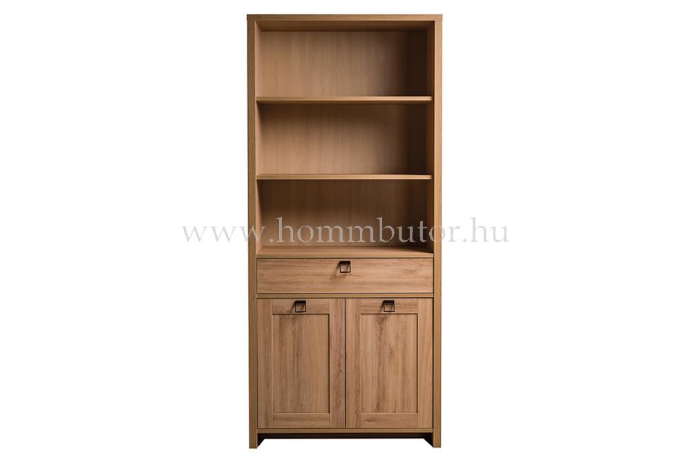 FARMER szekrény 2 ajtós 1 fiókos 3 polcos 89x198 cm
