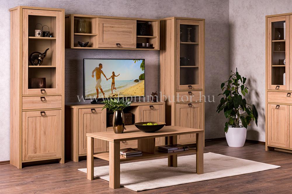 FARMER TV-állvány 2 fiókos 2 ajtós 139x72 cm