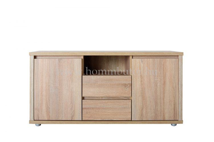 FREE TV-állvány 2 ajtós 2 fiókos polcos 130x61 cm