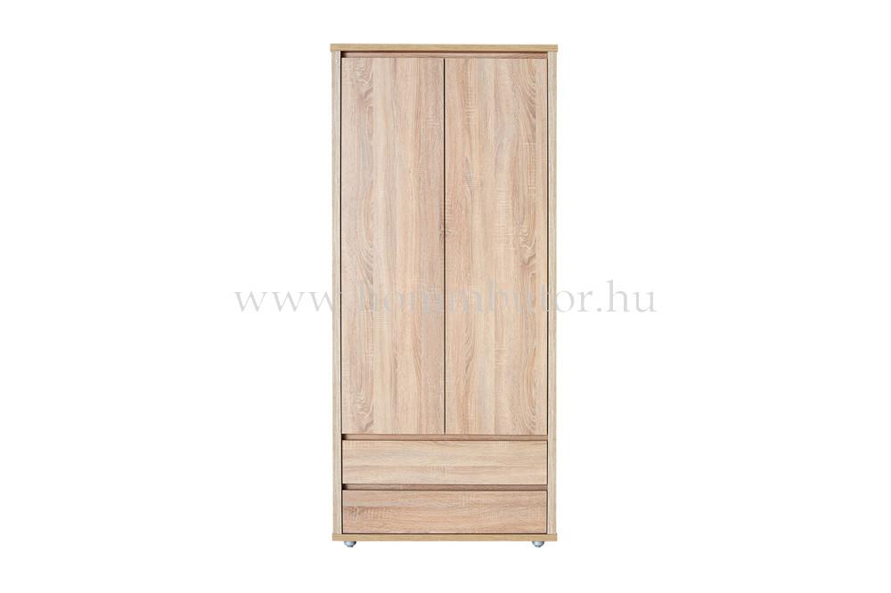 FREE nyílóajtós, akasztós, fiókos gardróbszekrény 89x197 cm