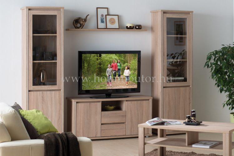 FREE elemes nappali bútorcsalád kb. 248x200x41 cm * pl. TV-állvány *