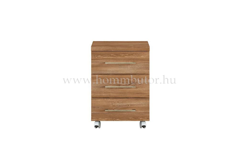 GENT íróasztal konténer 3 fiókos 42x60 cm