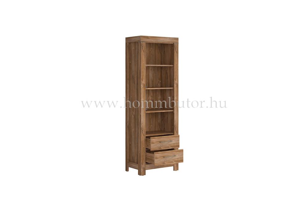 GENT szekrény 2 fiókos 4 polcos 68x201 cm