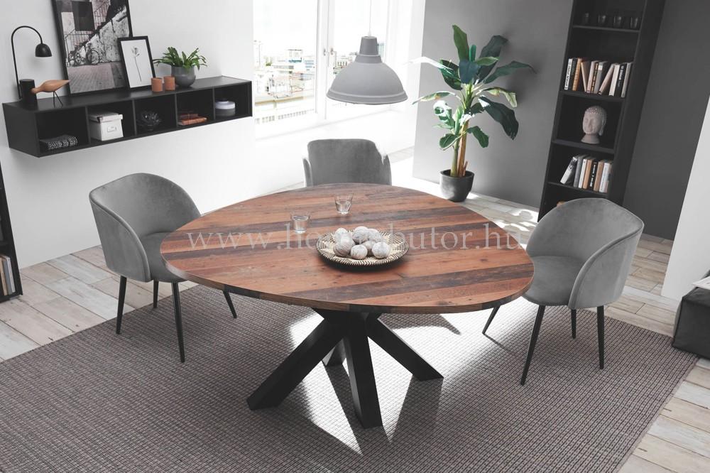 MANU fix étkezőasztal 150x150 cm