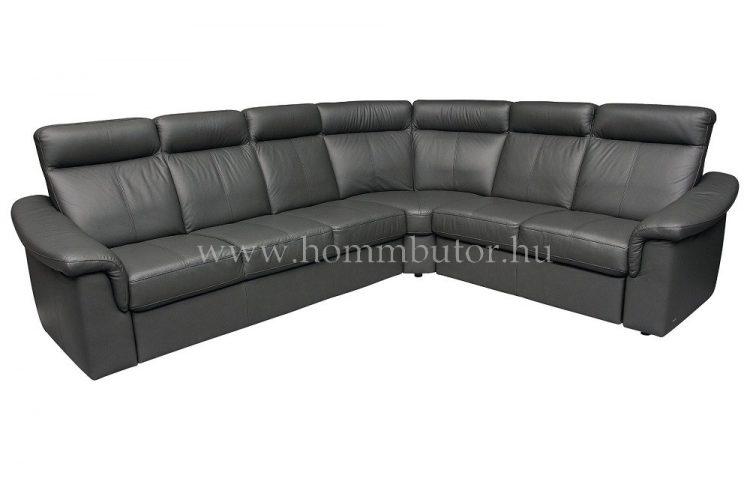 GREGORY L-alakú bőr ülőgarnitúra 290x243 cm