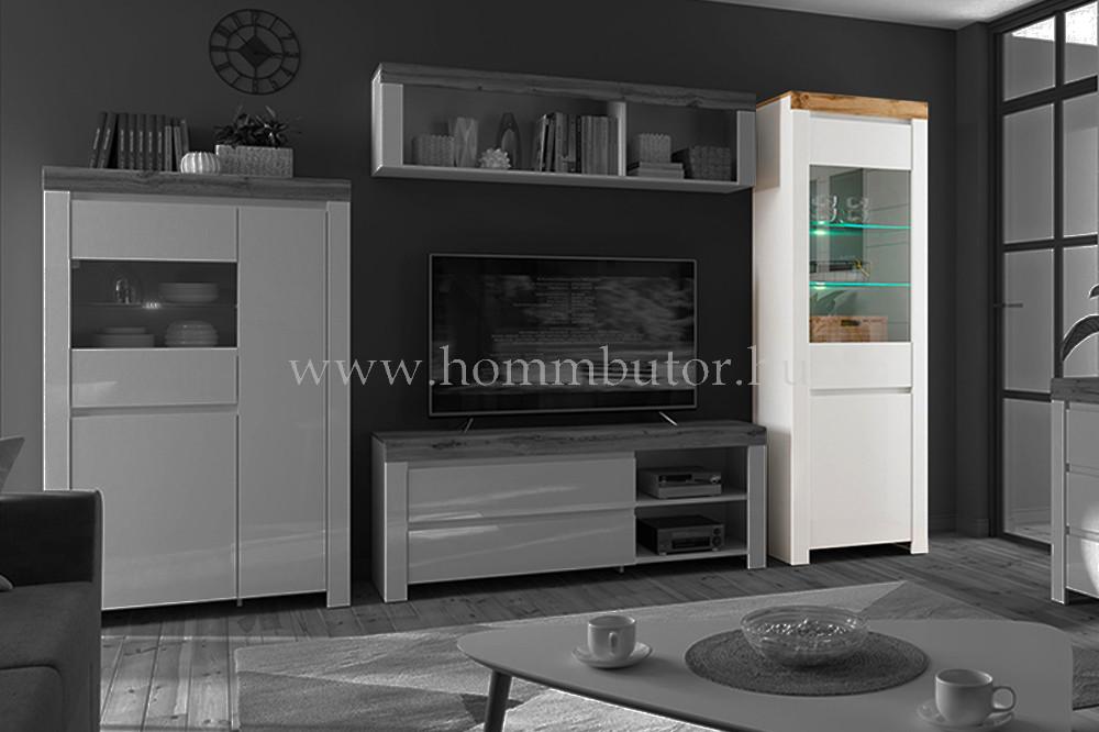 HOLTEN vitrin 1 üvegajtós 1 ajtós 68x204 cm
