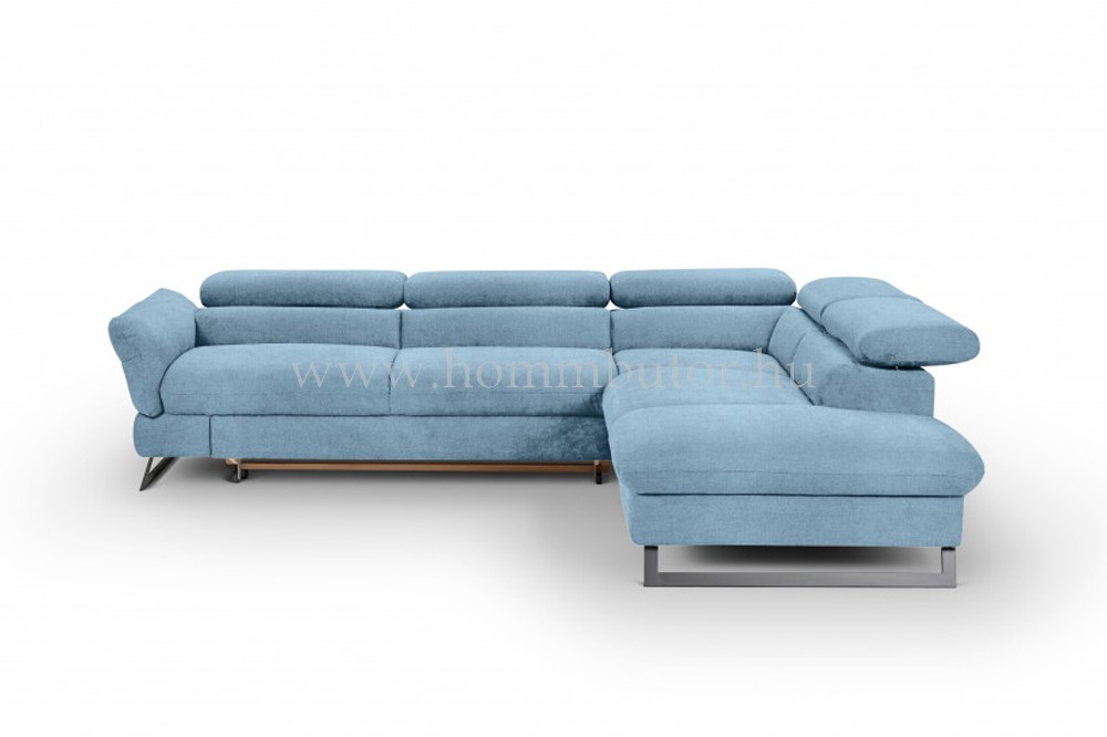 HONDURAS közepes méretű (270x225cm) L-alakú sarok ülőgarnitúra, tárolós ülőkével, ágyazható