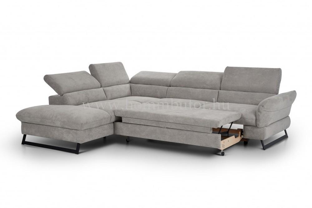 HONDURAS közepes méretű (270x225cm) L-alakú sarok ülőgarnitúra, ágyazható