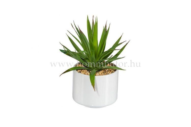HEGYI RÓZSA élethű növény dekoráció 16 cm magas