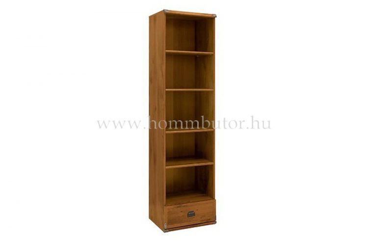 INDIANA szekrény 1 fiókos 5 polcos 50x196 cm