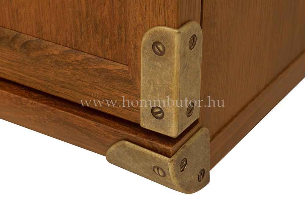 INDIANA szekrény 1 fiókos 5 polcos 80x196 cm