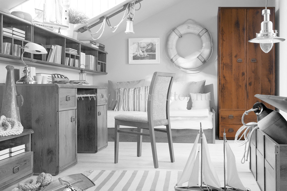INDIANA nyílóajtós gardróbszekrény 80x196 cm